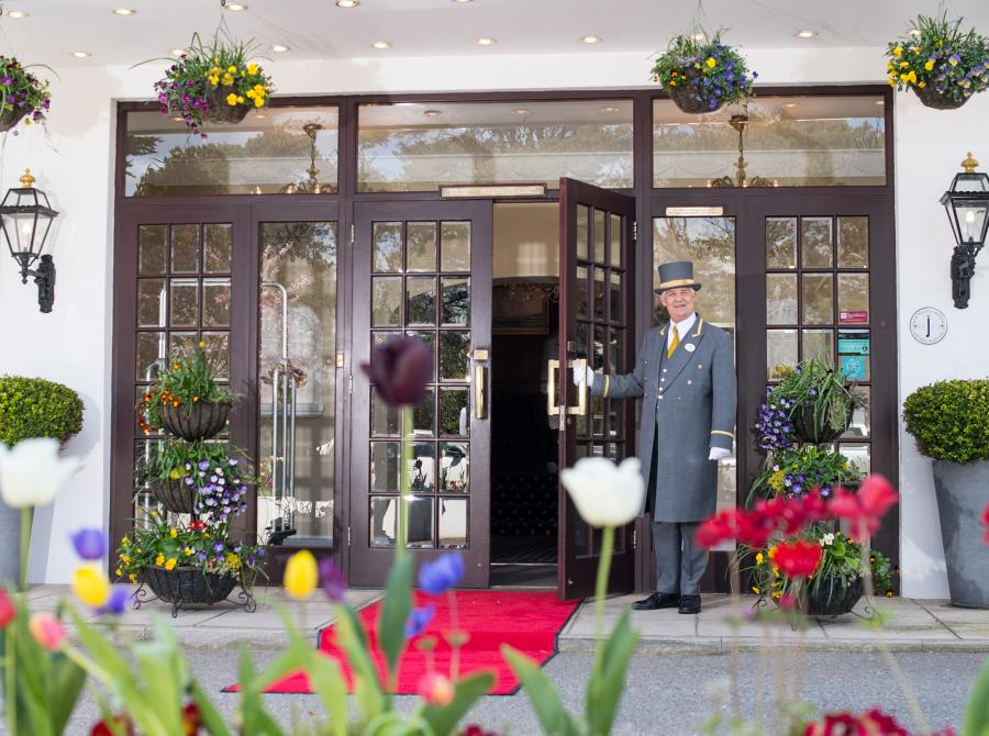 Carlyon Bay Hotel doorman