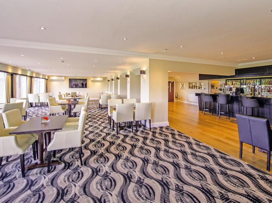 daytime interior of Carlyon Bay Golf Clubhouse